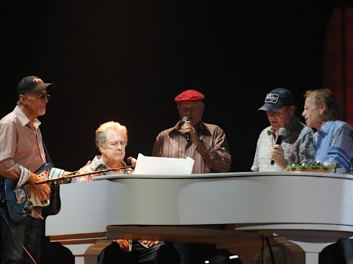 The Beach Boys headline the Stadium of Fire on July 4.