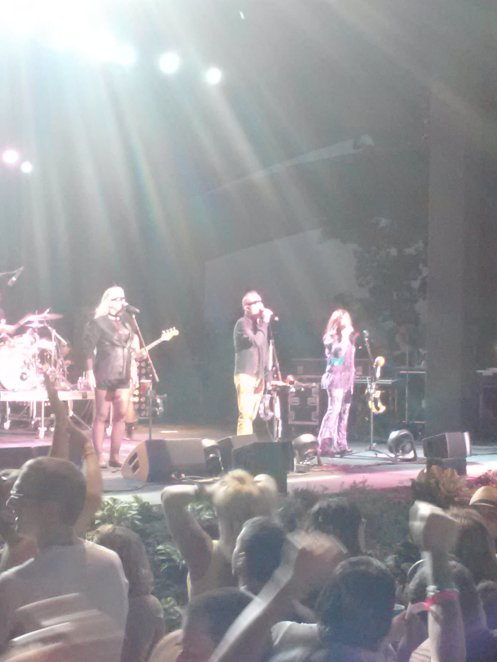 The B-52s Monday night at Red Butte Garden.