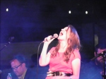 "Debra Fotheringham singing Tom Petty's ""Room at the Top"" Friday night at the Provo Rooftop Concert Series."