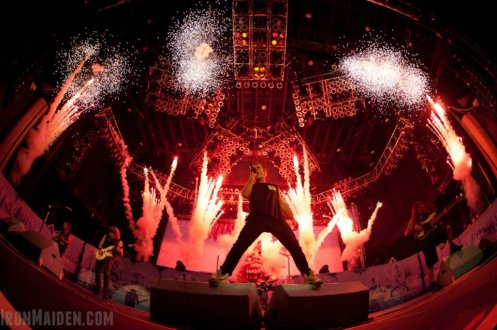 Iron Maiden headlines Wednesday, Aug. 1, at Usana Amphitheatre in West Valley City.
