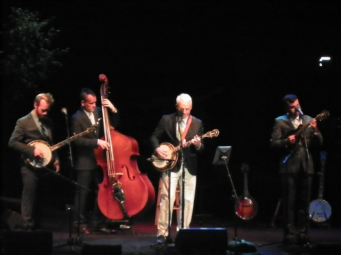 Steve Martin and the Steep Canyon Rangers performing Thursday night at Red Butte Garden.