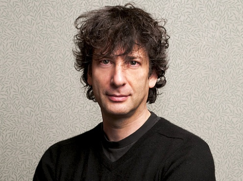 Neil Gaiman appears April 18