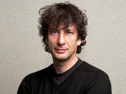 Neil Gaiman appears April 18